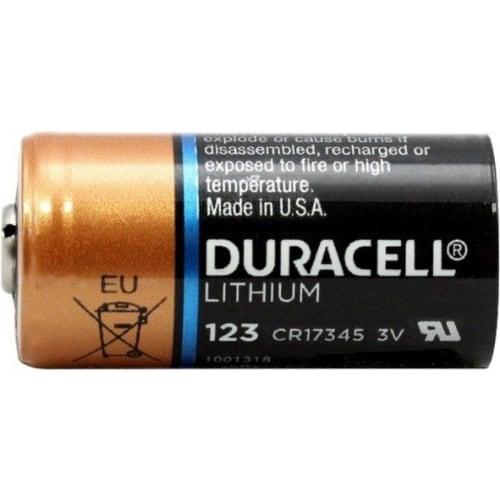 duracell cr123a battery