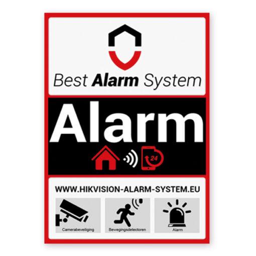 Best Alarm System sticker