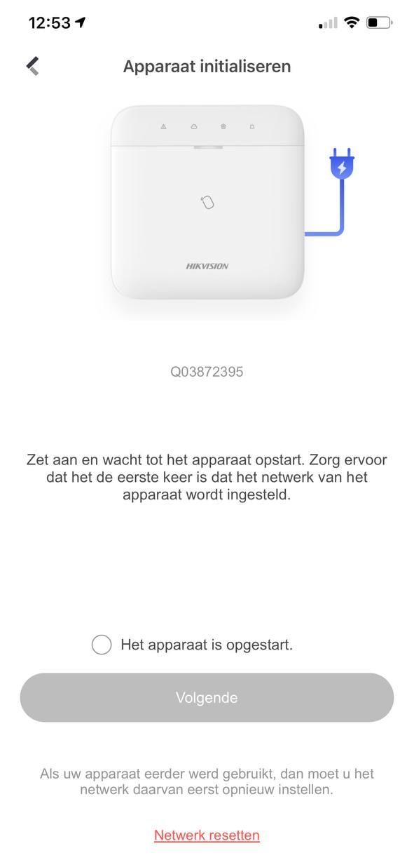 WiFi instellen
